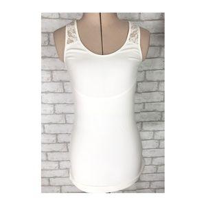 Maidenform Shapewear Lace Back & Shoulders Small